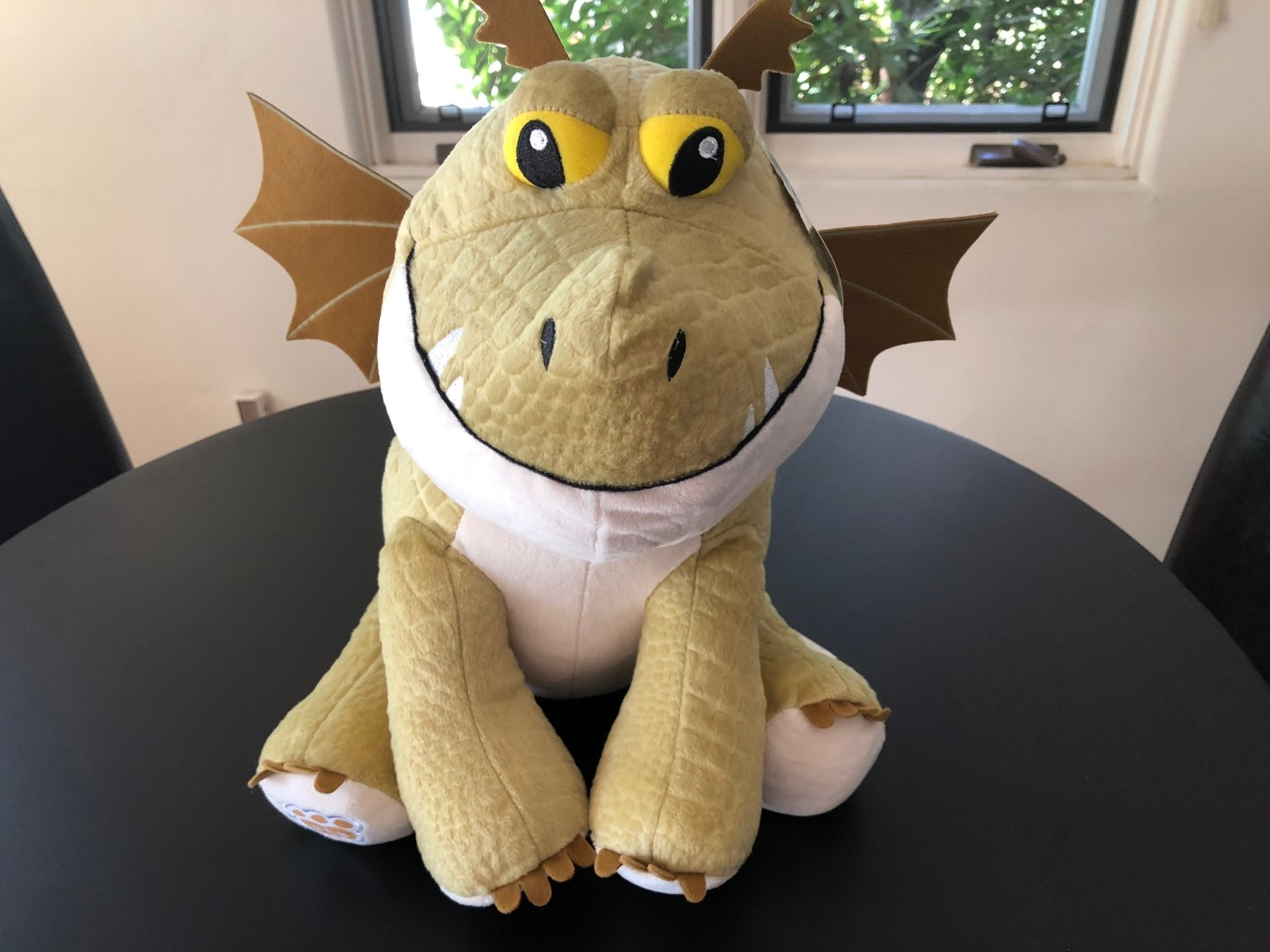 "Meatlug from ""How to Train Your Dragon,"" an online-exclusive at Build-a-Bear Workshop"